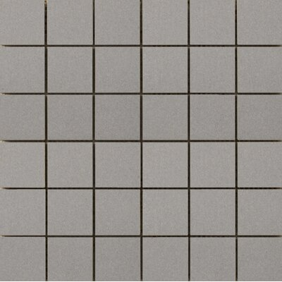 Perspective Pure 12 x 12 Porcelain Mosaic Tile in Dove