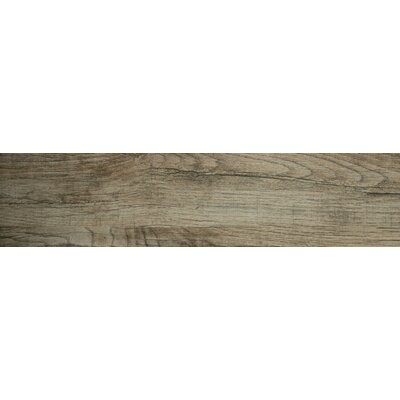 Woodwork 6 x 24 Porcelain Wood Look/Field Tile in Hillsboro