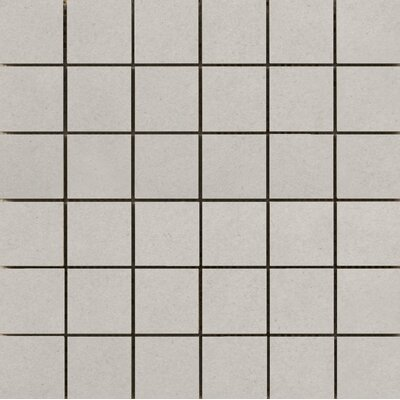 Perspective Pure 12 x 12 Porcelain Mosaic Tile in Ash