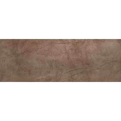 Citadel 12 x 35 Porcelain Field Tile in Brown