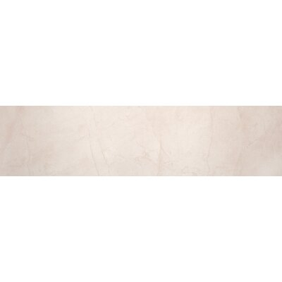 Citadel 6 x 35 Porcelain Field Tile/Stone Look Tile in Ivory