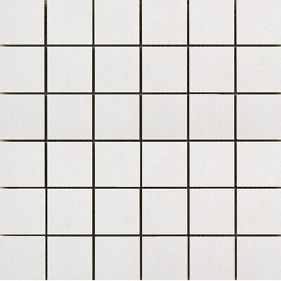 Perspective Pure 12 x 12 Porcelain Mosaic Tile in White