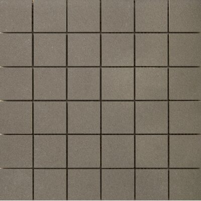 Perspective Pure 12 x 12 Porcelain Mosaic Tile in Olive