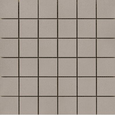 Perspective Pure 12 x 12 Porcelain Mosaic Tile in Clay