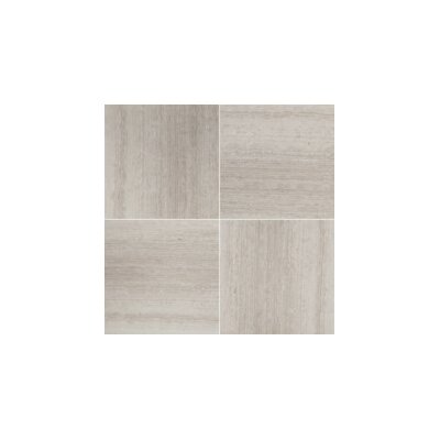 Metro 3D/12 x 12 Limestone Linear Mosaic Tile in Cream