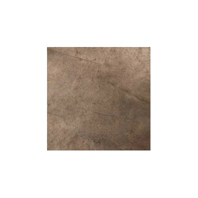 St. Moritz ll 18 x 18 Porcelain Field Tile in Chocolate