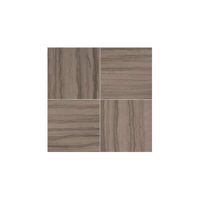 Metro 12 x 12 Limestone 3D Linear Mosaic Tile in Taupe