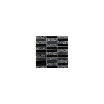 Illumina 12 x 12 Glass Stone Blend Mosaic Tile in Shimmer