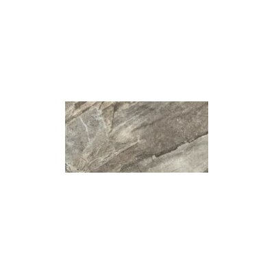 Europa 13 x 3 Porcelain Bullnose Tile Trim in Polished Grigio