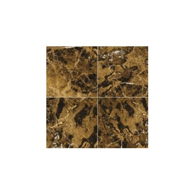 Marble 12 x 24 Tile in Marrone Emperador Dark