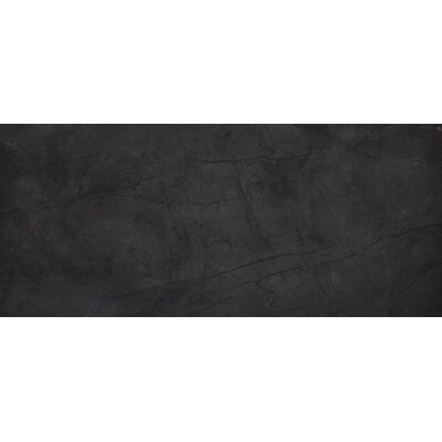 Citadel 12 x 20 Porcelain Linear Mosaic Tile in Black