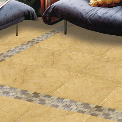 Genoa 7 x 7 Porcelain Field Tile in Luca