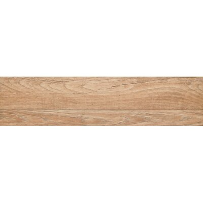 Woodwork 6 x 39 Porcelain Wood Look/Field Tile in Bend