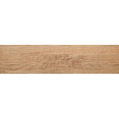 Woodwork 6 x 24 Porcelain Wood Look/Field Tile in Bend