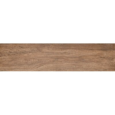 Woodwork 6 x 24 Porcelain Wood Look/Field Tile in Eugene