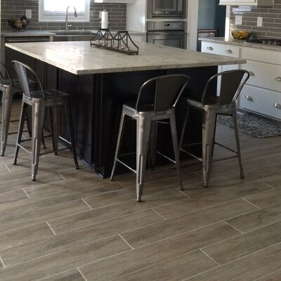 Woodwork 3 x 24 Porcelain Bullnose Tile in Hillsboro