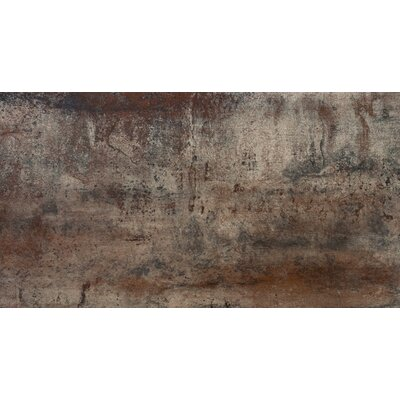 Alchemy 12 x 24 Porcelain Metal Look/Field Tile in Copper Matte