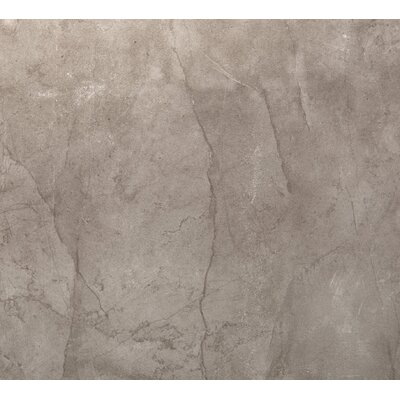 Citadel 24 x 24 Porcelain Metal Look Field Tile in Gray