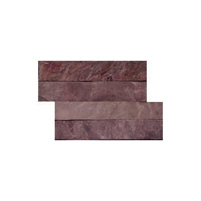 Natural Stone 16 x 6 Slate Corner Piece Tile Trim in Multirajah