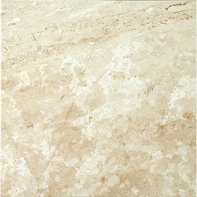 Natural Stone 18 x 18 Marble Field Tile in Daino Reale