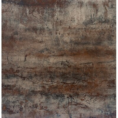 Alchemy 24 x 24 Porcelain Field Tile in Copper