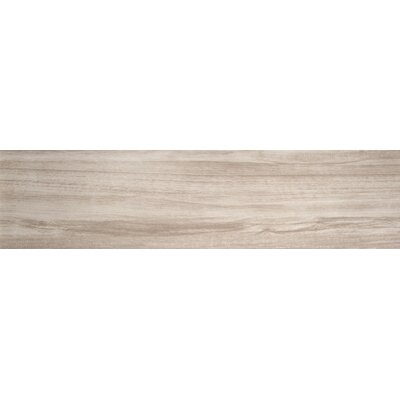 Downtown 6 x 35 Porcelain Wood Look Field Tile in Broadway
