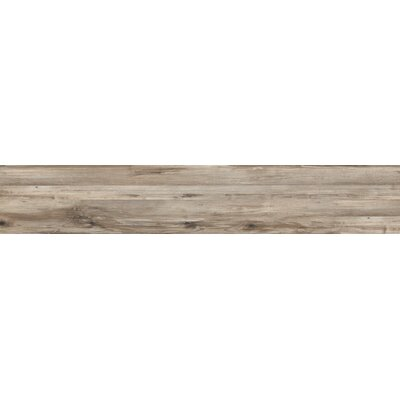 Theory 8 x 45 Porcelain Wood Look/Field Tile in Taupe