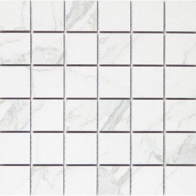 Duomo 2 x 2 Porcelain Mosaic Tile in Bianchi