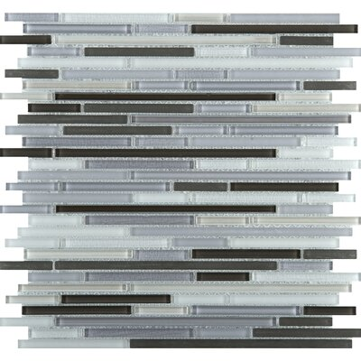 Infinity Random Sized Glass Mosaic Tile in Era