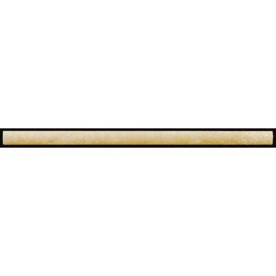Natural Stone 1 x 12  Pencil Liner Tile in Beige