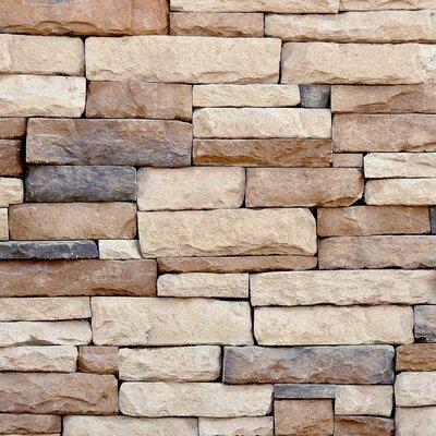 Border Trail Random Sized Concrete Composite Rock Exterior Tile in Montreal
