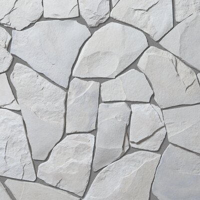 Bedrock Random Sized Concrete Composite Rock Exterior Tile in Calgary