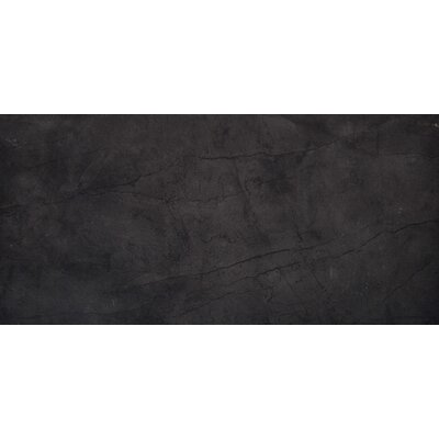 Citadel 12 x 24 Porcelain Field Tile in Black