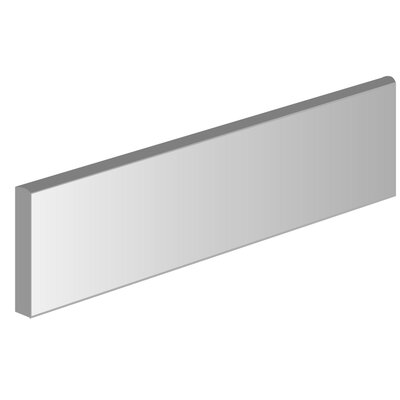 Origin 3 x 13 Ceramic Bullnose Tile Trim in Basis