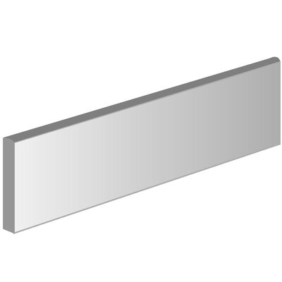 Direction 3 x 12 Porcelain Bullnose Tile Trim in Magnitude