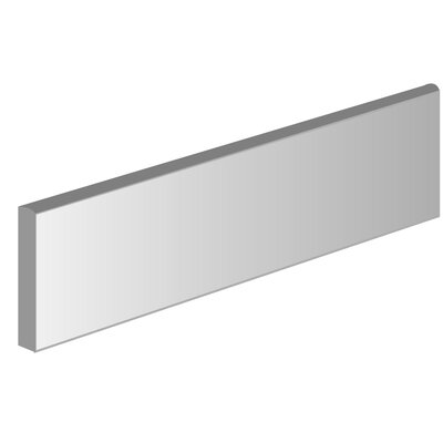 Pacific 3 x 12 Ceramic Bullnose Tile Trim in Noce