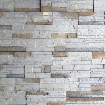 Cascade Mountain Random Sized Concrete Composite Rock Wall Tile in Montreal