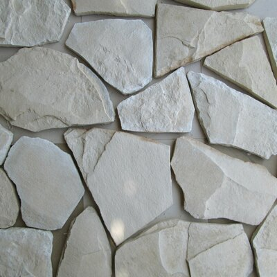 Bedrock Random Sized Concrete Composite Rock Exterior Tile in Alberta