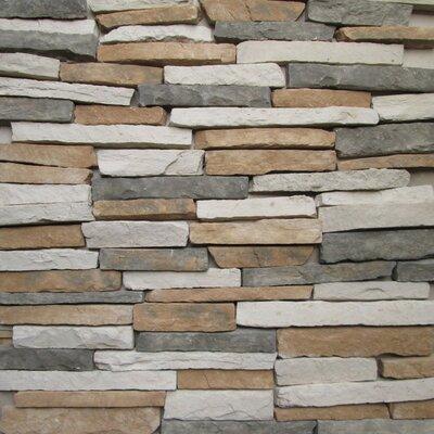 Pikes Peak Random Sized Concrete Composite Rock Exterior Tile in Montreal