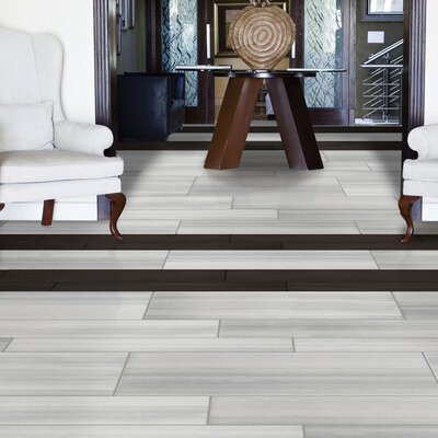 Perspective 12 x 24 Porcelain Tile in White