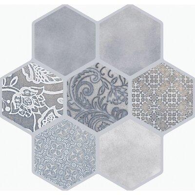 Virtue 18 x 18 Porcelain Tile in Gray