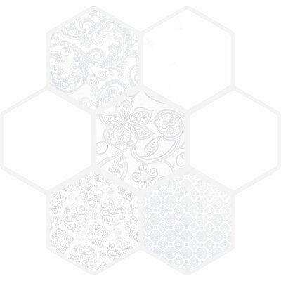 Virtue 18 x 18 Porcelain Tile in White