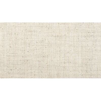 Canvas 12 x 24 Porcelain Fabric Look/Field Tile in Angora