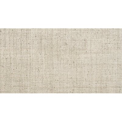 Canvas 24 x 12 Porcelain Fabric Look Tile in Khaki
