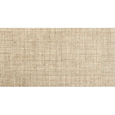 Canvas 12 x 24 Porcelain Fabric Look Tile in Linen