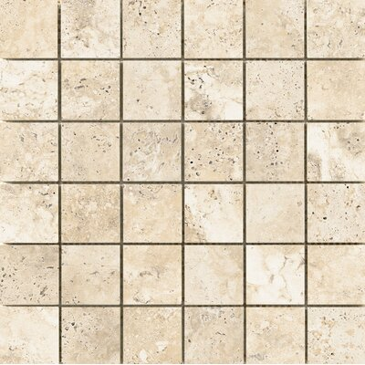 Cabo 2 x 2 Ceramic Mosaic Tile in Beach
