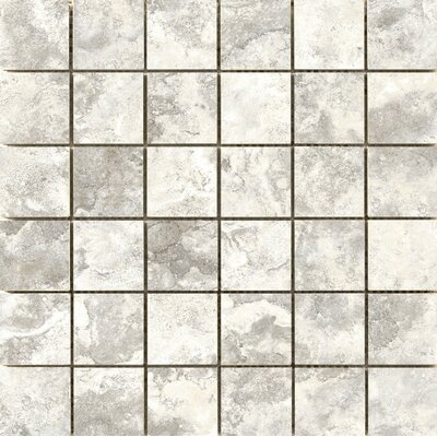 Cancun 2 x 2 Ceramic Mosaic Tile in Isla
