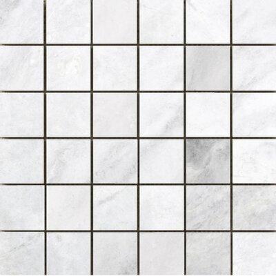 Kalta 2 x 2 Marble Mosaic Tile in Bianco