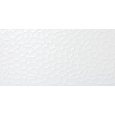 Jazz Hive 12 x 24 Ceramic Field Tile in White