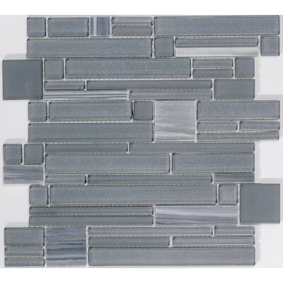 Entity Mixed Material Mosaic Tile in Zest